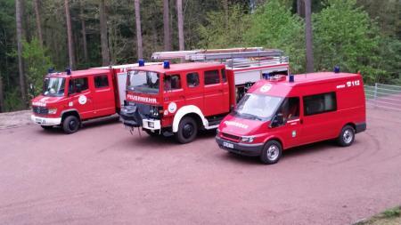 Fuhrpark der Feuerwehr Leimbach