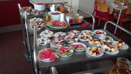 Gesundes Frühstück- täglich liebevoll und frisch zubereitet