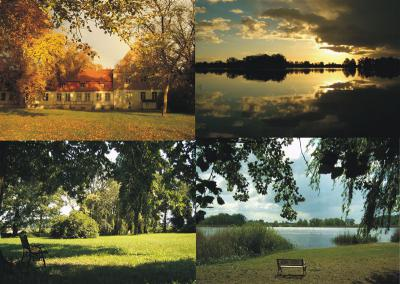 Der Gutspark am Beetzsee