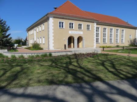 Haupteingang Kulturhaus Lebus