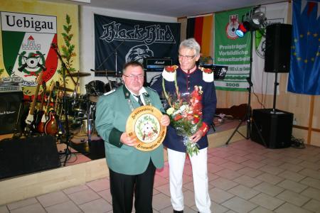 Harry Klobuch Schützenkönig Uebigau 2015