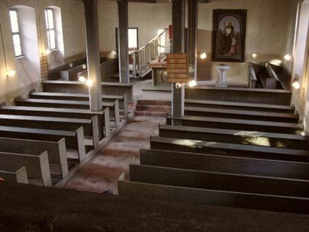 Hohenofen Kirche Innenansicht