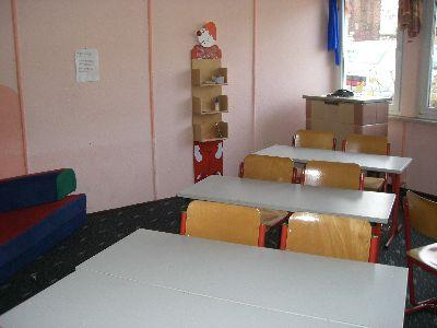 Hausaufgabenzimmer des Hortes