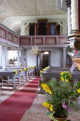 Welsickendorf - Blick zur Orgelempore