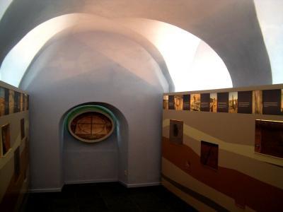 Informationszentrum zum Sonnenobservatorium im Schloss Goseck