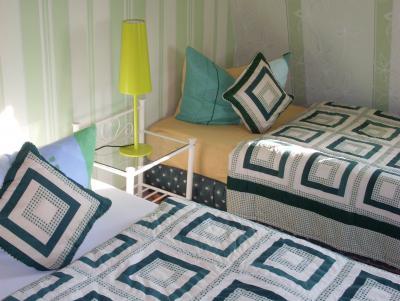 Schlafzimmer der Zweiraumwohnung