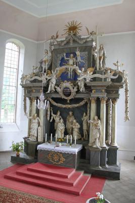 Altar der Jöhstädter Kirche