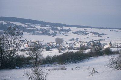 Kaltenlengsfeld im Winter