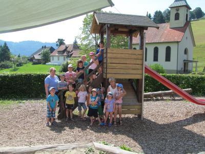 Die Kinder unseres Kindergartens