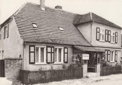 Kinderkrippe Päwesin ca.1960