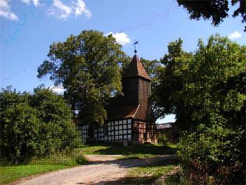 Fachwerkkirche in Dargersdorf