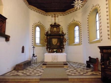 Kirche Wahrenbück innen