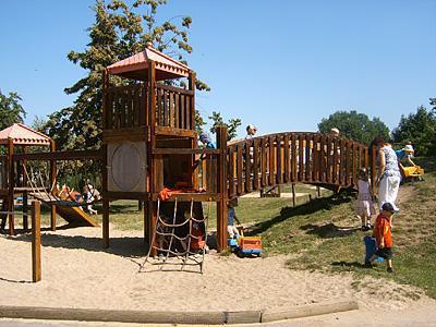 Spielplatz der Kita Storchennest