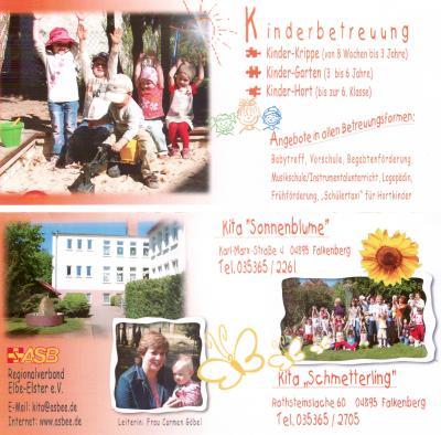 Kita Sonnenblume Falkenberg