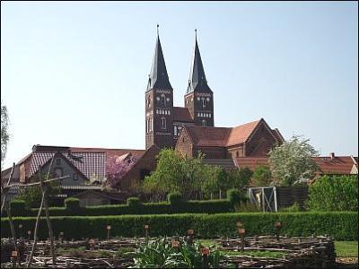 Ansicht vom Klostergarten