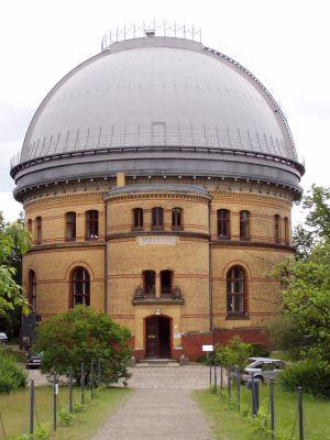 Der Große Refraktor auf dem Wissenschaftscampus Telegrafenberg.