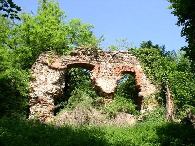 Überreste der Quitzowburg