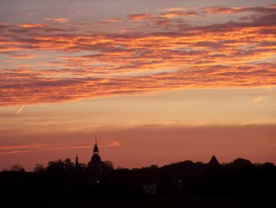 Morgenhimmel über Möckern
