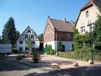 Ansicht Dorfplatz