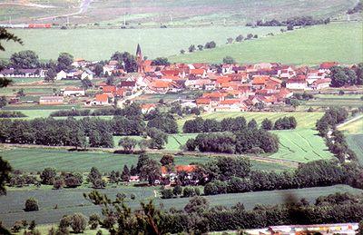 Blick auf den Ortsteil Thürungen