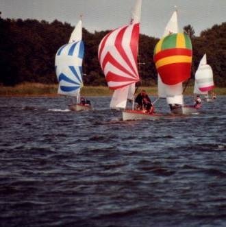 Wassersport auf dem See