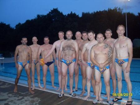 Die Wasserballmannschaft 2013