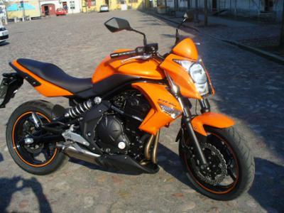 Kawasaki ER6N 650 ccm, Erstzulassung März 2011, mit ABS