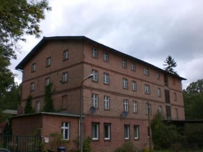 Die Wassermühle in Werbelow