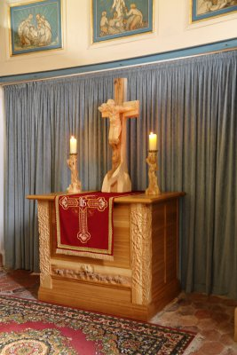 neuer Altar - Einweihung 08.04.2012