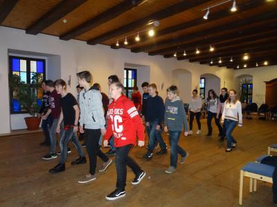 Tanzkurs zur Jugendweihe, 9.02.2016