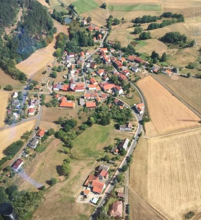 Luftbild Ellingshausen