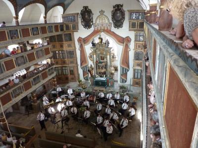 Benefizkonzert Polizeimusikkorps in der Kirche zu Helmershausen am 06.06.2010