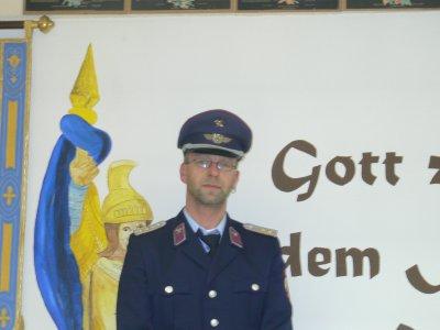 Ortswehrleiter Karsten Löffler