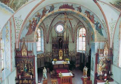 Chorraum der Pfarrkirche St. Urban