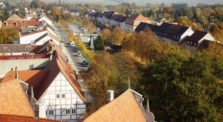 Besuch doch mal den Historischen Stadtkern Doberlug...