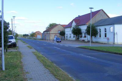 Straße nach Putlitz