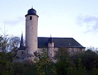 Ansicht Burg Denstedt