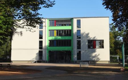 Haus A des Schulkomplexes