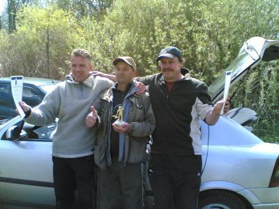 Die Sieger 2. Hegefischen 2010
