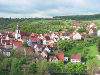 Stadtansicht Creglingen