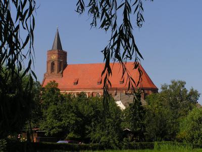 St. Marien Kirche, Blick von der Spree