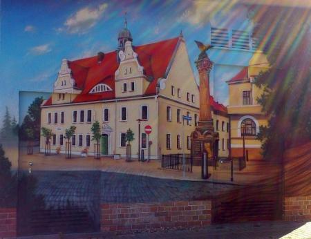 Such doch mal das besondere Bild des Rathauses...