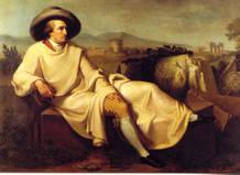 Bild: Johann Heinrich Wilhelm Tischbein Goethe in der römischen Campagna 1787, Städelmuseum, Frankfurt am Main