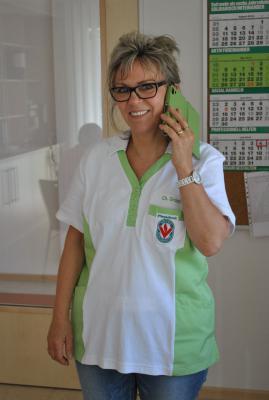 Pflegedienstleiterin Christine Grant