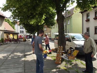 dienstags - Wochenmarkt in Kaltennordheim