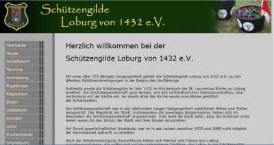 Vorschau:Schützengilde Loburg von 1432 e. V.