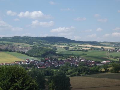 Blick auf Diedorf