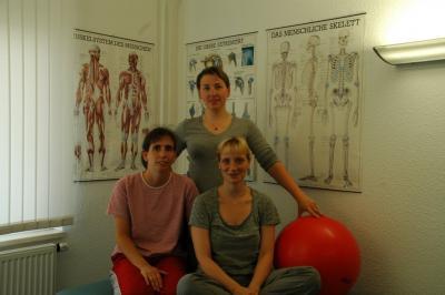 Das Team der DRK-Praxis für Ergotherapie (v.l.) Catrin Pfuhle, Katharina Kraatz und Anke Pfeiffer