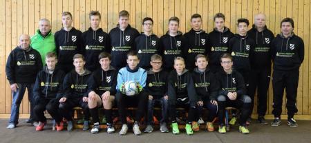 C-Jugend-Spielgemeinschaft Ruppersdorf/Leutersdorf Spielzeit 2016/17; Foto: Stefan Elßner