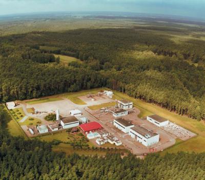 Erdgaslager in den Kraaker Tannen
